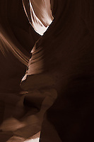 Upper Antelope Canyon, Page Arizona. Image taken with a Nikon D3 camera and 14-24 mm f/2.8 lens (ISO 200, 24 mm, f/16, 30 sec). Image processed with Capture One Pro (including conversion to sepia)..