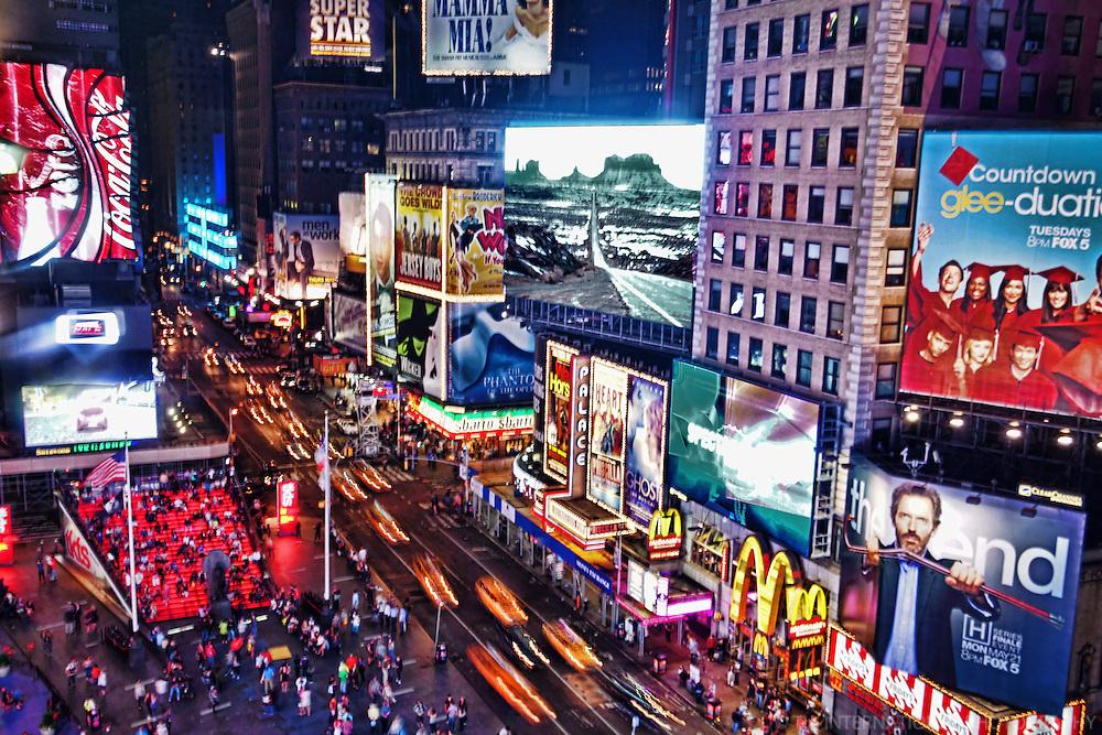 Times Square (Night), 7th Avenue & Broadway