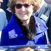 NLD/Amsterdam /20130327 - Prinses Magriet doop een tulp in Artis, Prinses Margriet