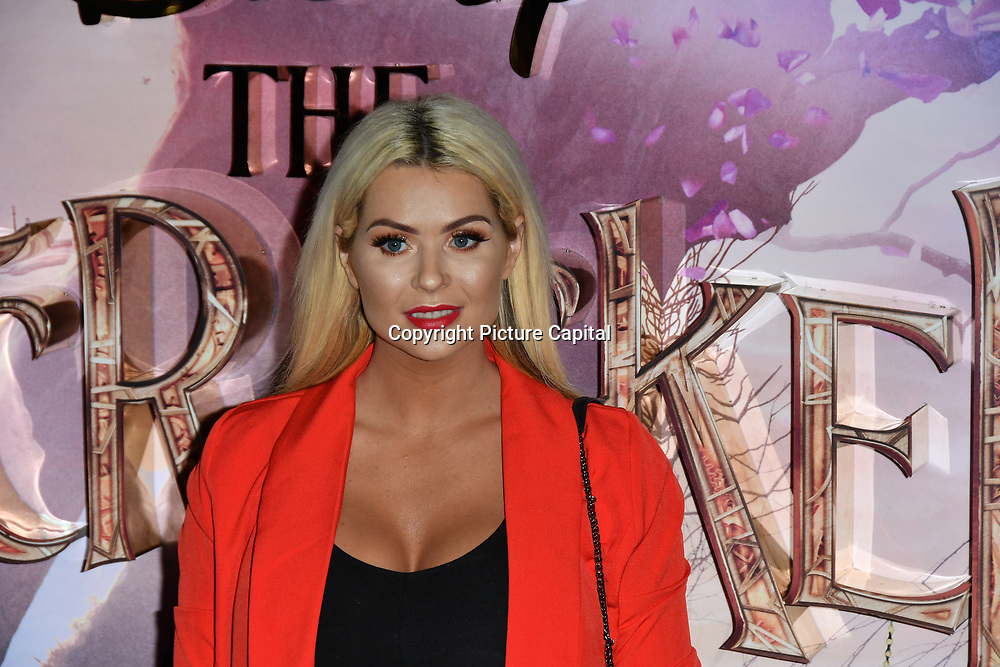 Nicola McLean attend The Nutcracker and the Four Realms - UK premiere at Vue Westfield, Westfield Shopping Centre, Ariel Way on 1st Nov 2018, London, UK.