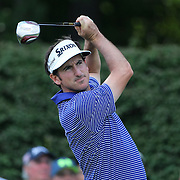 Gonzalo Fernández-Castaño, Spain, in action during the fourth round of theThe Barclays Golf Tournament at The Ridgewood Country Club, Paramus, New Jersey, USA. 24th August 2014. Photo Tim Clayton
