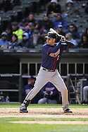 CHICAGO - APRIL 20:  Joe Mauer #7 of the MInnesota Twins bats against the Chicago White Sox on April 20, 2013 at U.S. Cellular Field in Chicago, Illinois.  The Twins defeated the White Sox 2-1 .  (Photo by Ron Vesely)   Subject:  Joe Mauer