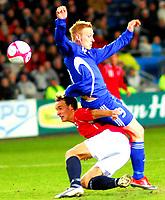 Fotball Privat Landskamp 01.04.2009<br /> Ullevaal Stadium <br /> Norge vs Finland<br /> Norway vs Soumi<br /> <br /> Result  3 -2<br /> <br /> Foto: Jarl Robert Christensen Digitalsport<br /> <br /> Norge Norway Tore Reginiussen<br /> <br /> Finland Soumi Mikael Forsell