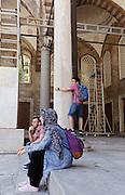 Turkey, Istanbul, the blu mosque, Sultan Ahmet Camii