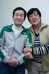 Portrait of an older couple,