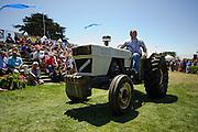 August 2014: Pebble Beach Concours. Lamborghini tractor