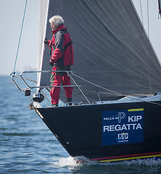 Lights winds dominated the Pelle P Kip Regatta  at Kip Marine weekend of 12/13th May 2018<br /> <br /> Branding, St Bridget, Maxi 1000, CYCA Class 4<br /> <br /> Images: Marc Turner