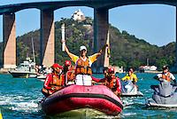 Espírito Santo - Vitoria - Passagem Tocha Olimpica pela cidade de Vitoria - Fotos - Bruno Coelho/ Mosaico Imagem