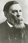 'Friedrich Engels (1820-1895) in 1891,  German-English industrialist, political theorist, philosopher, and social scientist.Co-founder, with Karl Marx, of Marxism.'