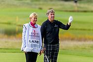 08-10-2017 - Foto van de finaledag van de Dutch Masters 2017, een European Senior Tour Event. Gespeeld op The Dutch in Spijk van 6 t/m 8 oktober.  Barry Lane