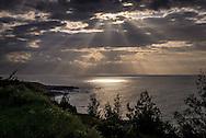 Sunset on the Maui Coast near Hookipa.