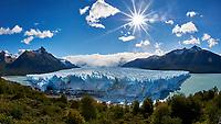 Perito Moreno Glacier, Los Glaciares National Park. Image taken with a Nikon D3s and 16 mm f/2.8 fisheye lens (ISO 200, f/22, 1/500 sec).