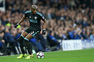 Allan-Romeo Nyom of West Bromwich Albion in action. Premier league match, Everton v West Bromwich Albion at Goodison Park in Liverpool, Merseyside on Saturday 11th March 2017.<br /> pic by Chris Stading, Andrew Orchard sports photography.