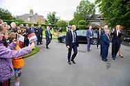 Dublin12-06-2019<br /> <br /> <br /> <br /> State Visit of King Willem-Alexander and Queen Maxima to Ireland.<br /> <br /> Botanical Gardens visit<br /> <br /> Foto: ROYALPORTRAITS EUROPE BERNARD RUEBSAMEN