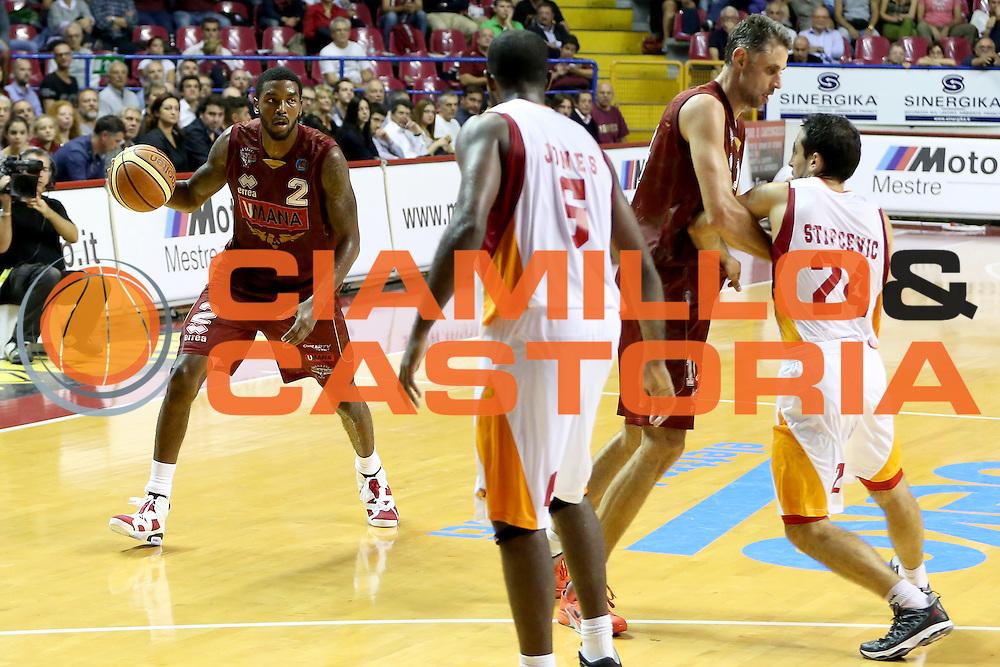 DESCRIZIONE : Venezia Lega A 2014-15 Umana Venezia Acea Roma<br /> GIOCATORE : Julyan Stone Tomas Ress<br /> CATEGORIA : palleggio blocco<br /> SQUADRA : Umana Venezia Acea Roma<br /> EVENTO : Campionato Lega A 2014-2015<br /> GARA : Umana Venezia Acea Roma<br /> DATA : 19/10/2014<br /> SPORT : Pallacanestro <br /> AUTORE : Agenzia Ciamillo-Castoria/G. Contessa<br /> Galleria : Lega Basket A 2014-2015 <br /> Fotonotizia : Venezia Lega A 2014-15 Umana Venezia Acea Roma
