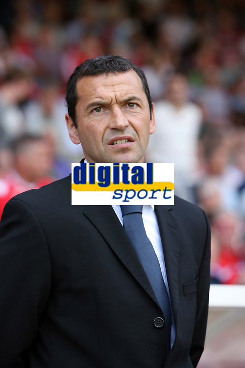 Photo: Rich Eaton. <br /> <br /> Nottingham Forest v AFC Bournemouth. Coca Cola Championship. 11/08/2007. Forest manager Colin Calderwood pictured before his team draw 0-0 at home on the first day of the season.