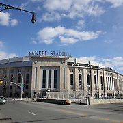 Yankee Stadium, home of the New York Yankees baseball team, The Bronx, New York. Photo Tim Clayton