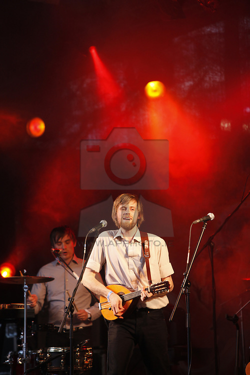 The Lowly Knights performing live at the Castle Palooza music festival 2010. Pic Andres Poveda