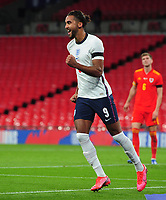Football - 2019 / 2020 season - International Friendly - England vs Wales - Wembley Stadium.<br /> <br /> Dominic Calvert - Lewin of England celebrates scoring his first half goal <br /> <br /> COLORSPORT/ANDREW COWIE