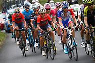 Domenico Pozzovivo (ITA - Bahrain - Merida) during the 101th Tour of Italy, Giro d'Italia 2018, stage 6, Caltanissetta - Etna 163 km on May 10, 2018 in Italy - Photo Luca Bettini / BettiniPhoto / ProSportsImages / DPPI