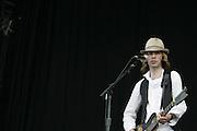June 17, 2006; Manchester, TN.  2006 Bonnaroo Music Festival. Beck performs at Bonnaroo 2006.  Photo by Bryan Rinnert/3sight Photogrpahy