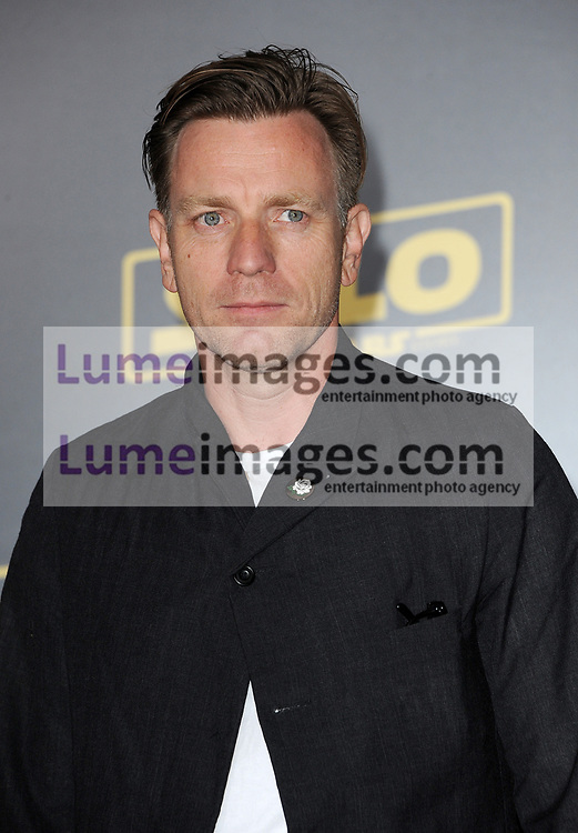 Ewan McGregor at the premiere of Disney Pictures and Lucasfilm's 'Solo: A Star Wars Story' held at the El Capitan Theatre in Hollywood, USA on May 10, 2018.