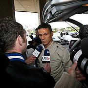 NLD/Noordwijk/20080520 - Voetballers melden zich voor trainingskamp Nederlands Elftal, Khalid Boulahrouz