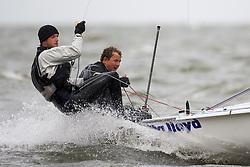 Medemblik - the Netherlands, May 27th 2009. Delta Lloyd Regatta in Medemblik (27/31 May 2009). Day 1.