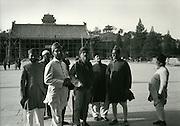 C008-15_Tom Hutchins_Pakistani visitors, Tiananmen square, Peking, China,1956 A3.tif