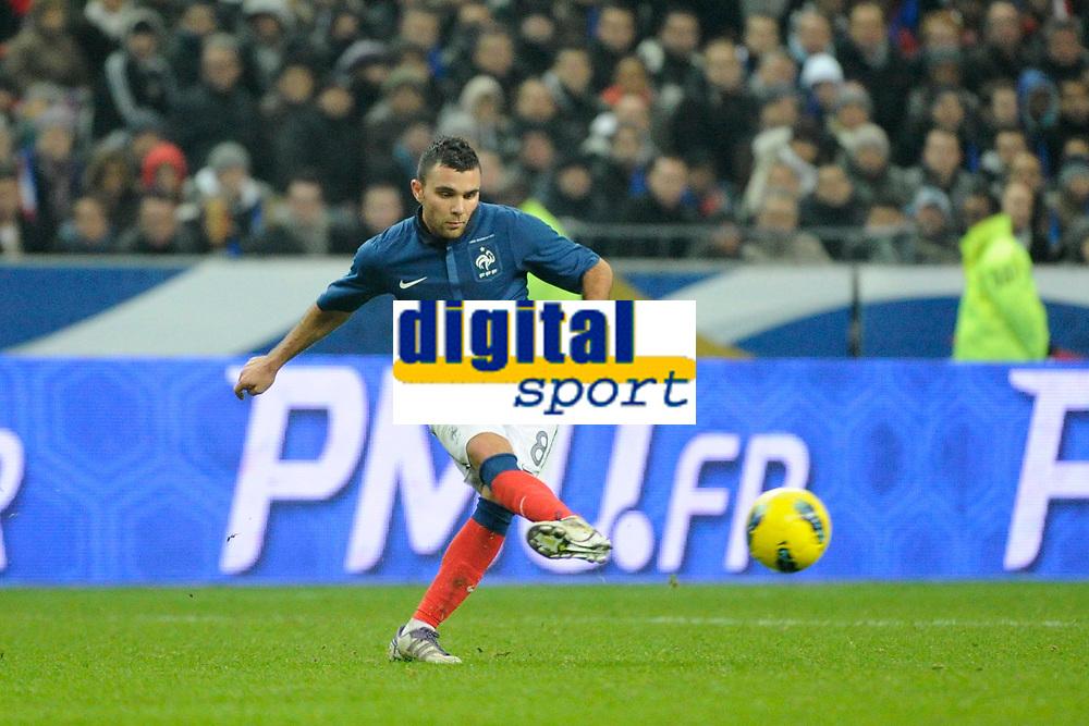 FOOTBALL - FRIENDLY GAME 2011 - FRANCE v BELGIUM - 15/11/2011 - PHOTO JEAN MARIE HERVIO / DPPI - MARVIN MARTIN (FRA)