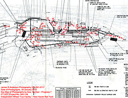 Key Plan. New Haven Rail Yard, Independent Wheel True Facility. CT-DOT Project # 0300-0139, New Haven CT. Progress Photograph of Construction Progress Photo Shoot 7 on 18 January 2012