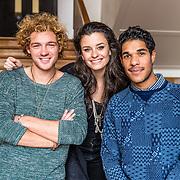 NLD/Amsterdam/20170202 -  Presentatoren Jules Unlimited, Eva Koreman, Jamie Nolst Trenite en Maurice Lede