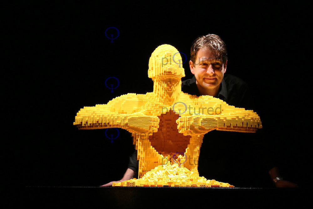 Nathan Sawaya Unveils His Blockbuster LEGO Sculpture Exhibition 'The Art of the Brick', Old Truman Brewery, London UK, 24 September 2014, Photo by Richard Goldschmidt