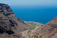 Playa de Santiago, La Gomera Island, Canary Islands. Spain