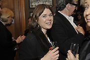 LUCINDA BREDIN, Rothschild Wealth Management & Trust  and David Campbell  host a party to celebrate the publication of <br /> 'Made in Britain' -The Men and Women Who Shaped the Modern World by Adrian Sykes. National Portrait Gallery. London. 9 November 2011 <br /> <br /> <br />  , -DO NOT ARCHIVE-© Copyright Photograph by Dafydd Jones. 248 Clapham Rd. London SW9 0PZ. Tel 0207 820 0771. www.dafjones.com.