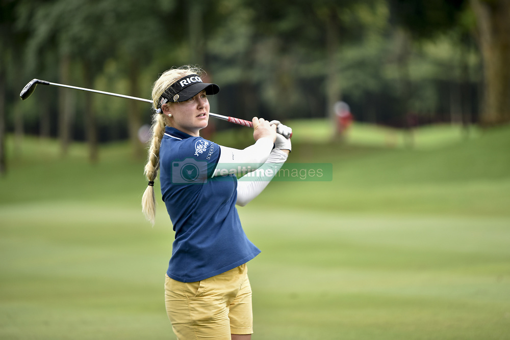 October 26, 2017 - Kuala Lumpur, Malaysia - Charley Hull of England during day one of the Sime Darby LPGA Malaysia at TPC Kuala Lumpur on October 26, 2017 in Kuala Lumpur, Malaysia  (Credit Image: © Chris Jung/NurPhoto via ZUMA Press)