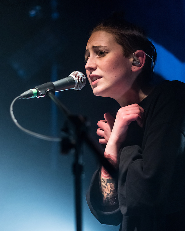Margrét Rán of Icelandic indie-electro band Vök at Artheater in Cologne