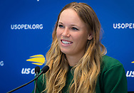Caroline Wozniacki of Denmark during Media Day at the 2018 US Open Grand Slam tennis tournament, New York, USA, August 24th 2018, Photo Rob Prange / SpainProSportsImages / DPPI / ProSportsImages / DPPI