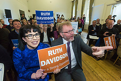 Pictured:  David Mundell<br /> <br /> Ruth Davidson began her final push to lead the Conservative Party to opposition in the Scottish Parliamentary Election with an eve of poll rally at the Royal Botanic Garden, Edinburgh<br /> <br /> (c) Richard Dyson| Edinburgh Elite media