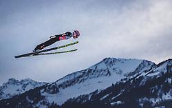 29.12.2018, Schattenbergschanze, Oberstdorf, GER, FIS Weltcup Skisprung, Vierschanzentournee, Oberstdorf, Qualifikation, im Bild Stefan Kraft (AUT) // Stefan Kraft of Austria during his Qualification Jump for the Four Hills Tournament of FIS Ski Jumping World Cup at the Schattenbergschanze in Oberstdorf, Germany on 2018/12/29. EXPA Pictures © 2018, PhotoCredit: EXPA/ JFK