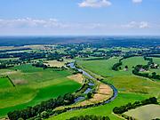 Nederland, Overijssel, Gemeente Wierden; 21–06-2020; Twente, omgeving Zuna, rivier de Midden-Regge.<br /> Twente, eastern Holland, the Midden-Regge river.<br /> <br /> luchtfoto (toeslag op standaard tarieven);<br /> aerial photo (additional fee required)<br /> copyright © 2020 foto/photo Siebe Swart