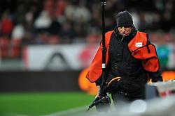 22-01-2012 VOETBAL: FC UTRECHT - PSV: UTRECHT<br /> Utrecht speelt gelijk tegen PSV 1-1 / Ruud Voest<br /> ©2012-FotoHoogendoorn.nl