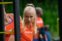 Marije van Hunenstijn during the Press presentation of the olympic team Athletics on July 8, 2021 in Papendal Arnhem