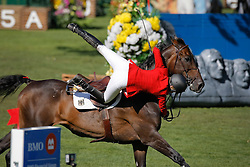 Michaels-Beerbaum Meredith (GER) - Checkmate 4<br /> BMO Nations Cup<br /> Spruce Meadows Masters - Calgary 2009<br /> © Dirk Caremans