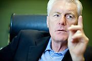 Belgium, Waregem, Mai 04, 2011, Hugo BROOS, trainer of soccerteam Zulte Waregem. REPORTERS©Christophe Vander Eecken