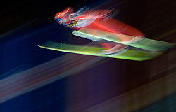 Andreas Wank (GER) competes during Qualification round of the FIS Ski Jumping World Cup event of the 58th Four Hills ski jumping tournament, on January 5, 2010 in Bischofshofen, Austria. (Photo by Vid Ponikvar / Sportida)