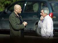 Fotball / Football<br /> Tyskland - Germany<br /> FC Köln training at La Manga - Spain<br /> 05-14.01.2007<br /> Foto: Morten Olsen, Digitalsport<br /> <br /> GERMANY OUT<br /> <br /> Christian Path of Stern talking to Michael Meier - Manager of Köln