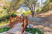 Western Red Cedar Meadow Bridge at Niguel Botanical Preserve