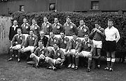 Irish Rugby Football Union, Ireland v Wales, Five Nations, Landsdowne Road, Dublin, Ireland, Saturday 9th March, 1968,.9.3.1968, 3.9.1968,..Referee- M H Titcomb, Rugby Football Union, ..Score- Ireland 9 - 6 Wales, ..Irish Team, ..T J Kiernan,  Wearing number 15 Irish jersey, Captain of the Irish team, Full Back, Cork Constitution Rugby Football Club, Cork, Ireland,..A T A Duggan, Wearing number 14 Irish jersey, Right Wing, Landsdowne Rugby Football Club, Dublin, Ireland,..B A P O'Brien, Wearing number 13 Irish jersey, Right Centre, Shannon Rugby Football Club, Limerick, Ireland,..F P K Bresnihan, Wearing number 12 Irish jersey, Left Centre, University College Dublin Rugby Football Club, Dublin, Ireland, ..J C M Moroney, Wearing number 11 Irish jersey, Left Wing, London Irish Rugby Football Club, Surrey, England, ..C M H Gibson, Wearing number 10 Irish jersey, Stand Off, N.I.F.C, Rugby Football Club, Belfast, Northern Ireland, ..R M Young, Wearing number 9 Irish jersey, Scrum Half, Queens University Rugby Football Club, Belfast, Northern Ireland,..K G Goodall, Wearing number 8 Irish jersey, Forward, City of Derry Rugby Football Club, Derry, Northern Ireland,..T J Doyle, Wearing number 7 Irish jersey, Forward, Wanderers Rugby Football Club, Dublin, Ireland, ..M G Doyle, Wearing number 6 Irish jersey, Forward, Blackrock College Rugby Football Club, Dublin, Ireland, ..W J McBride, Wearing number 5 Irish jersey, Forward, Ballymena Rugby Football Club, Antrim, Northern Ireland,..M G Molloy, Wearing number 4 Irish jersey, Forward, University College Galway Rugby Football Club, Galway, Ireland,  ..P O'Callaghan, Wearing number 3 Irish jersey, Forward, Dolphin Rugby Football Club, Cork, Ireland, ..A M Brady, Wearing number 2 Irish jersey, Forward, Malone Rugby Football Club, Belfast, Northern Ireland, .
