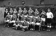 Irish Rugby Football Union, Ireland v Wales, Five Nations, Landsdowne Road, Dublin, Ireland, Saturday 9th March, 1968,.9.3.1968, 3.9.1968,..Referee- M H Titcomb, Rugby Football Union, ..Score- Ireland 9 - 6 Wales, ..Irish Team, ..T J Kiernan,  Wearing number 15 Irish jersey, Captain of the Irish team, Full Back, Cork Constitution Rugby Football Club, Cork, Ireland,..A T A Duggan, Wearing number 14 Irish jersey, Right Wing, Landsdowne Rugby Football Club, Dublin, Ireland,..B A P O'Brien, Wearing number 13 Irish jersey, Right Centre, Shannon Rugby Football Club, Limerick, Ireland,..F P K Bresnihan, Wearing number 12 Irish jersey, Left Centre, University College Dublin Rugby Football Club, Dublin, Ireland, ..J C M Moroney, Wearing number 11 Irish jersey, Left Wing, London Irish Rugby Football Club, Surrey, England, ..C M H Gibson, Wearing number 10 Irish jersey, Stand Off, N.I.F.C, Rugby Football Club, Belfast, Northern Ireland, ..R M Young, Wearing number 9 Irish jersey, Scrum Half, Queens University Rugby Football Club, Belfast, Northern Ireland,..K G Goodall, Wearing number 8 Irish jersey, Forward, City of Derry Rugby Football Club, Derry, Northern Ireland,..T J Doyle, Wearing number 7 Irish jersey, Forward, Wanderers Rugby Football Club, Dublin, Ireland, ..M G Doyle, Wearing number 6 Irish jersey, Forward, Blackrock College Rugby Football Club, Dublin, Ireland, ..W J McBride, Wearing number 5 Irish jersey, Forward, Ballymena Rugby Football Club, Antrim, Northern Ireland,..M G Molloy, Wearing number 4 Irish jersey, Forward, University College Galway Rugby Football Club, Galway, Ireland,  ..P O'Callaghan, Wearing number 3 Irish jersey, Forward, Dolphin Rugby Football Club, Cork, Ireland, ..A M Brady, Wearing number 2 Irish jersey, Forward, Malone Rugby Football Club, Belfast, Northern Ireland, .